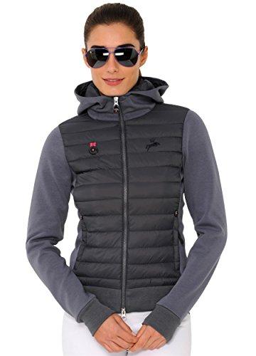 SPOOKS Jacke Simona Hoody Jacket dark grey Größe S