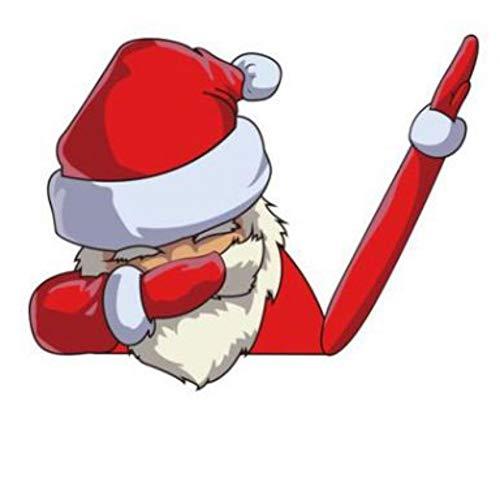 Mrinb Weihnachten Heckscheibenwischer Aufkleber Waving Arm, Santa Claus/Schneemann Waving Arm Wiper Decals, Car Sticker Styling Decor -