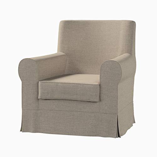 Dekoria Ektorp Jennylund Sesselbezug Sofahusse passend für IKEA Modell Ektorp beige- Olive