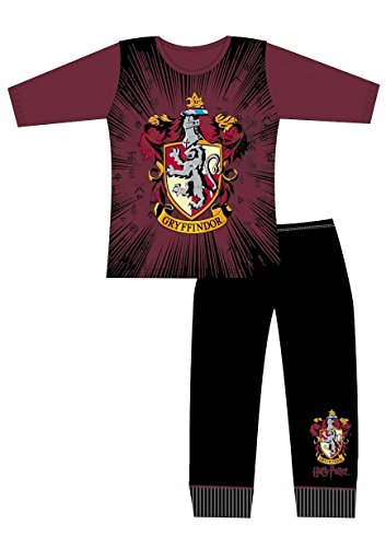 Official Harry Potter Girls PJS Pyjamas - Sizes 5-12 Years