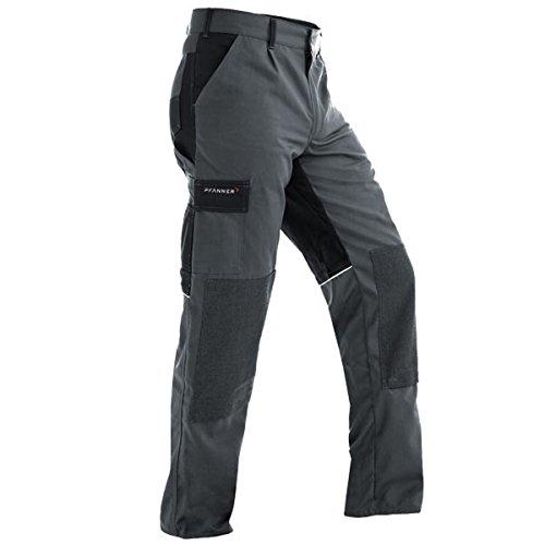 Pfanner Funktionsarbeitshose mit Stretchgewebe, Farbe:grau/schwarz;Größe:50