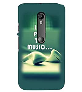 PrintDhaba Quote D-2368 Back Case Cover for MOTOROLA MOTO G3 (Multi-Coloured)