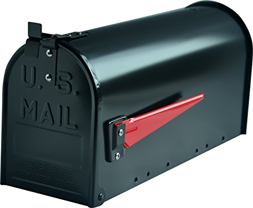 G2Trading Company US-Briefkasten 084Mississippi, Aluminium, Schwarz