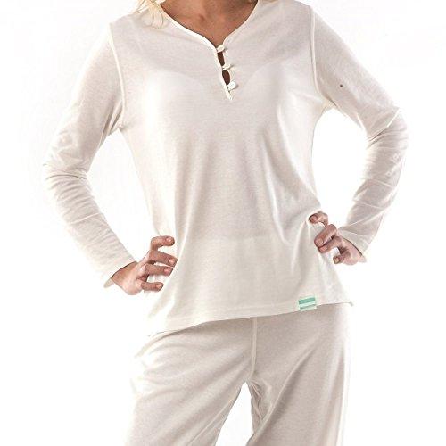 Tepso® Damen Schlafanzug Oberteil gegen Psoriasis / Schuppenflechte und Neurodermitis Creme