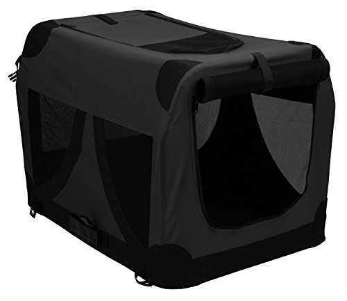Nylon Transporttasche für Hunde & Katzen - COMFORT CRATE - 61 x 41 x 41 cm