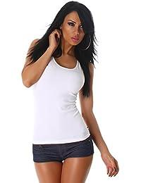 24brands Femmes Sexy Débardeur Top court Haut Shirt avec dentelle été Haut Neuf - 3180