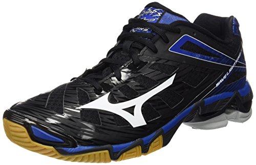 Mizuno Wave Lightning RX 3 Herren Volleyballschuhe Schwarz (Black/White/Olympian Blue)
