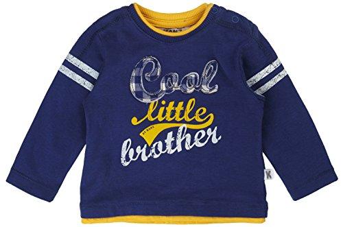 Kanz Baby - Jungen Langarmshirts T - Shirt 1/1 Arm, Gr. 74, Blau (true navy|blue 3580)