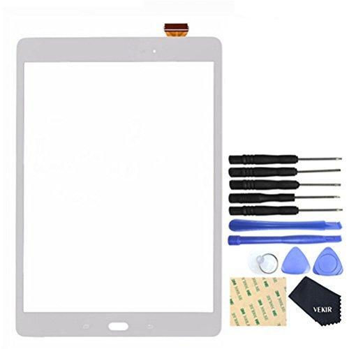 VEKIR Touch Reparatur Glas Bildschirm für Samsung Galaxy Tab Ein P550 (Weiß) - Galaxy Samsung Tab Bildschirm-glas