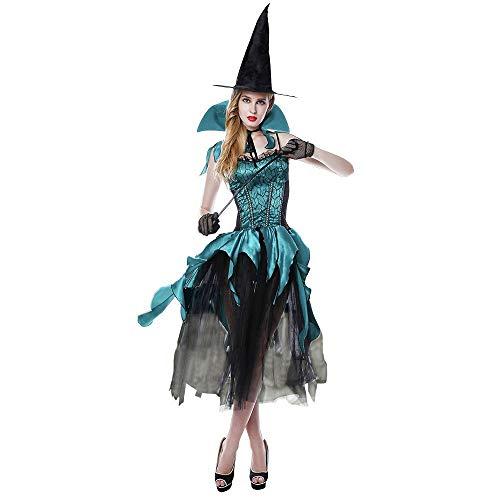 Forum Kostüm - HJG Erwachsene Hexenkostüme für Frauen, Forum Neuheiten Sexy Halloween Kostüme mit Mädchen Hexenhut