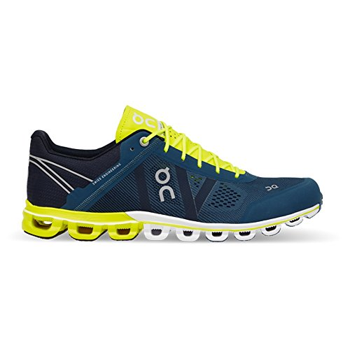 On-Running-Unidad-Botas-Cloudflow-Neutral-para-Hombre-Hombre-4329-PetrolNeon-44