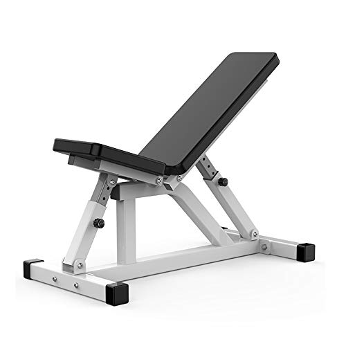 ZYX KFXL Banco Pesas Workout Bench - Silla De Ejercicios Abdominales De Tablero Supino para Pesas De Gimnasia Multifunción Banco De Ejercicios Home Sit-up Fitness Equipment Banco Abdominales