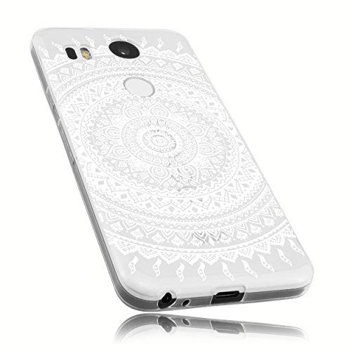mumbi Schutzhülle für LG Nexus 5X Hülle im Mandala Design
