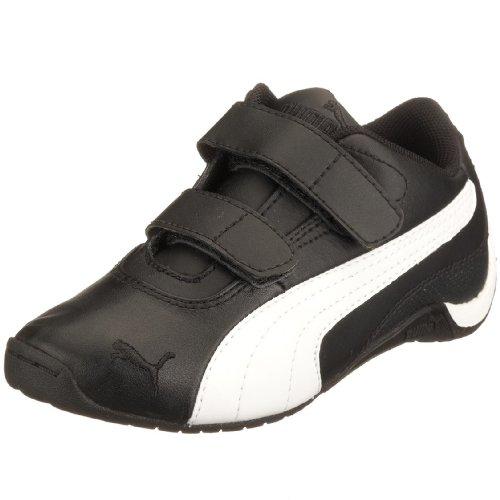 Puma Drift Cat II L V PS 302186, Unisex - Kinder Sneaker, schwarz, (BLACK-WHITE 05), EU 32, (US 1), (UK 13) (Puma Drift Cat Ii)