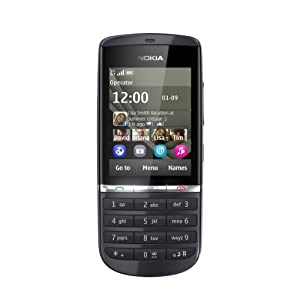 Nokia Asha 300 Sim Free Mobile Phone - Graphite (Certified Refurbished)