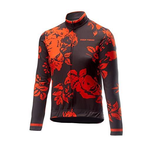 Uglyfrog Nueva Manga Larga del Invierno Termo Bodies de Ciclismo De Los Hombres Camisetas De Ciclismo Bicicleta De Carretera Ropa CXHB03