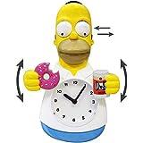 Homer Simpson 3D Motion Wanduhr Die Simpsons beweglichen Donut Duff Bier