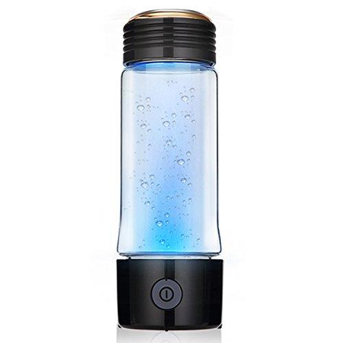 xlhwater Glas wasserstoffreiches Wasser Cup elektrolytisch negativer Ion-Generator Health Care tragbar Wasser Cup