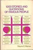Telecharger Livres 1 000 stories and quotations of famous people (PDF,EPUB,MOBI) gratuits en Francaise