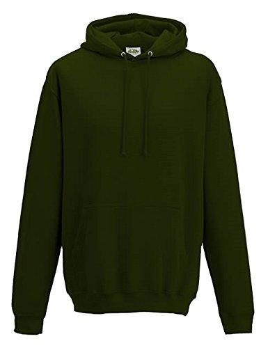 All we do is - Hoodie Kapuzensweatshirt Sweatshirt, Sweatshirt Waldgrün