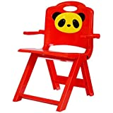 Golden Traders Panda Foldable Baby Chair - Red (GT 1049)