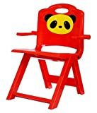 #3: Golden Traders Panda Foldable Baby Chair - Red (GT 1049)
