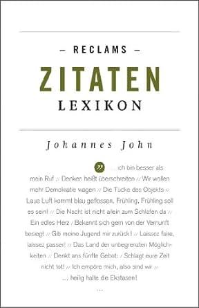 Reclams Zitaten Lexikon Reclams Universal Bibliothek