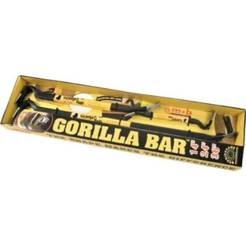 """Peddinghaus Nageleisen-Set 3-teilig 350, 600 und 900 mm""""Gorilla-Bar"""", 112010123"""