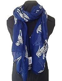 Blue BIG dalmation dog scarf/ wrap