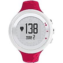 Suunto M2 WOMEN - Reloj mujer fitness, monitor frecuencia cardiaca + cinturón de frecuencia cardiaca, funciones frecuencia cardiaca simples, sumergible hasta 30 m, color fucsia
