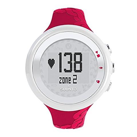 Suunto, M2 WOMEN, Montre de fitness pour femmes, Cardiofréquencemètre + Ceinture de poitrine, Fonctions de fréquence cardiaque standard, Étanchéité jusqu'à 30 m, Fuchsia, SS015855000