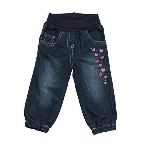 SALT AND PEPPER Baby-Mädchen Jeanshose B Jeans Smart Owl, Blau (Original 099), 62