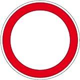 """Verbotsschild """"Durchfahrt verboten"""" aus Aluminium - in verschiedenen Größen erhältlich"""