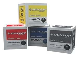 Dunlop 3 Pack Squash Balls Blue Blue Max