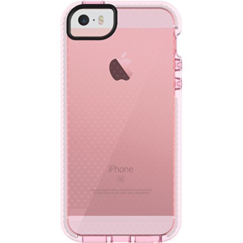 Tech21 Evo Mesh 4 Cover Black - mobile phone cases rosa/bianco