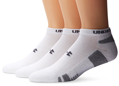 Under Armour Herren Socken HeatGear No Show 3er Pack
