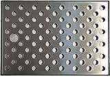 io-zapfe. de 443565vaschetta raccogligocce, Acciaio Inossidabile, Argento, 24,5x 17x 1cm