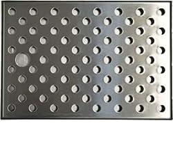 I Zapfe. De 443565Drip Tray, Stainless Steel, Silver, 24.5X 17X 1Cm