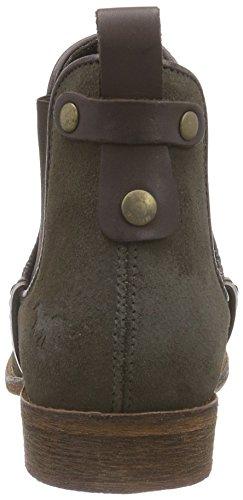 Mustang Damen Chelsea Boots Braun (318 taupe)