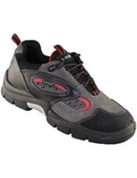 Lupriflex - Calzado de protección de Piel para hombre, color Negro, talla 38