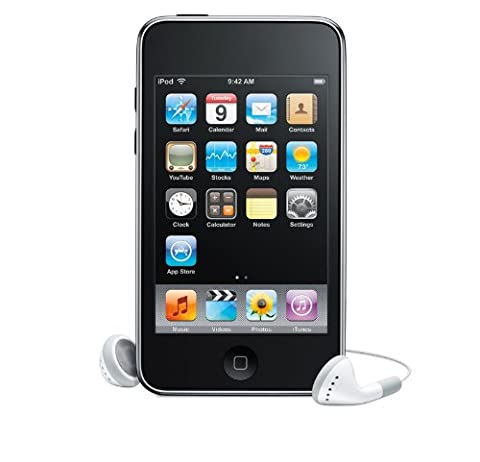 Apple iPod Touch 8GB MP3Player Wlan Digital Musik/Video Touchscreen 2nd Gen (Apple Video Ipod Touch 8 Gb)