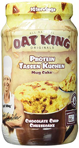 Lsp Oat King Mug Cake Chocolate Chip Cheesecake, 500 g