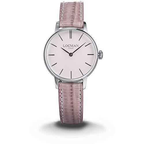 orologio solo tempo donna Locman 1960 casual cod. 0253A11A-00PKNKPP