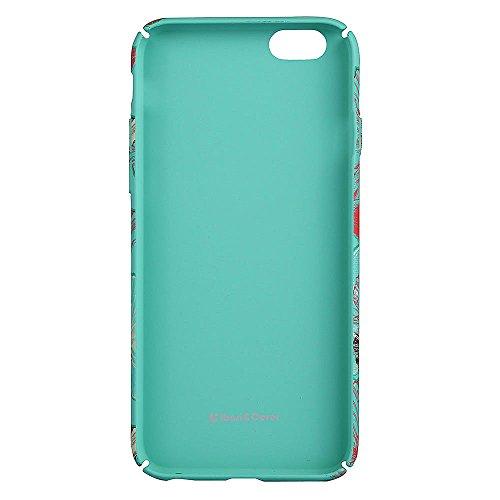 "iPhone 6s Handyhülle, Kreativ Mode Series CLTPY iPhone 6 [Ultra Hybrid] 3-Teilige Stylisch Extra Dünne Tough Plastic Schutz-etui mit Detachable Elektroplattiert metallrahme für 4.7"" Apple iPhone 6/6s  Farbige Blume 5"