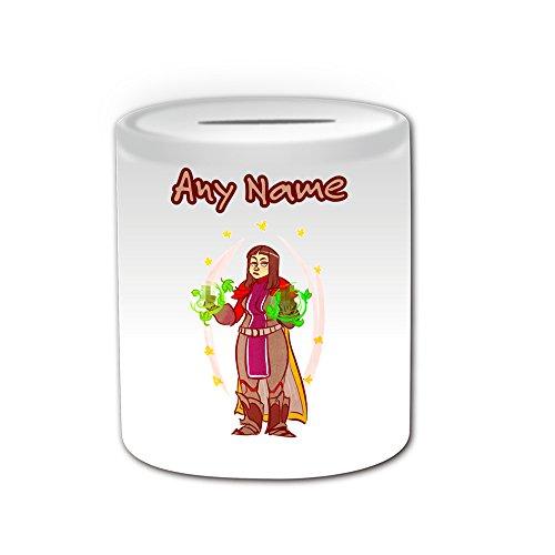personalisiertes-geschenk-zwerg-priest-spardose-mmorpg-design-thema-weiss-alle-nachricht-name-auf-ih