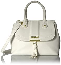 Kenneth Cole Reaction Norway Flap Satchel, Stone