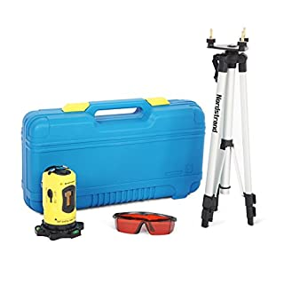 Nordstrand CL01 Automatic Self Levelling Cross Line Laser Level + Tripod and Accessories