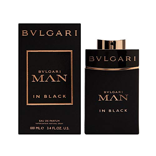 Bvlgari Man in Black Eau de Parfum Vapo, 1er Pack, (1x 100 ml)