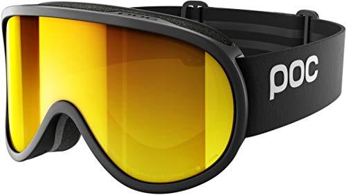 POC Unisex- Erwachsene 40515 Ski Brille, Uranium Black/Spektris Orange, ONE