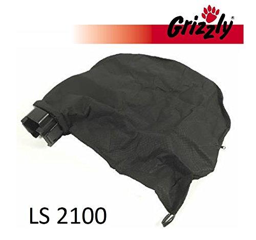 Grizzly Sac collecteur avec support pour Powerplus POW63150Aspirateur à feuilles électrique Grizzly LS 2100